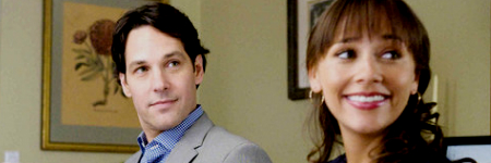 Paul Rudd és Rashida Jones